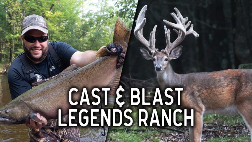 Cast and Blast at Legends Ranch