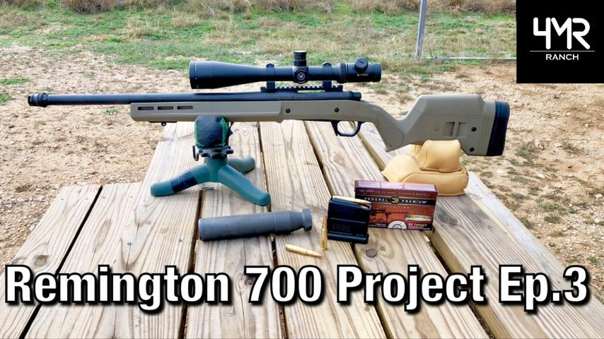 Remington 700 Accuracy With  Silencer | Ep. 3