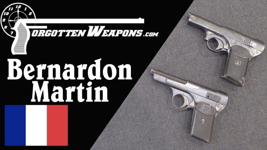 Bernardon-Martin: France's First Commercial Semiautomatic Pistol