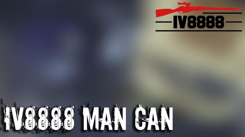 IV8888 Man Can Unboxing January 2019