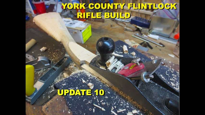 York County Flintlock Rifle Build - Update #10