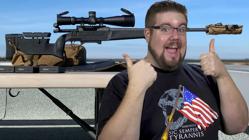 The Daniel Defense Delta 5 rifle!