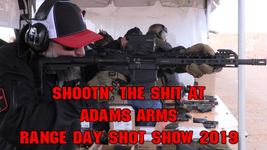 Shootn' The Shit At Adams Arms Range Day Shot Show 2019