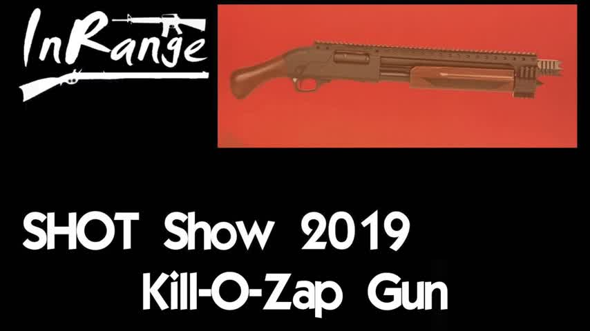 SHOT Show 2019: Kill-o-Zap Gun