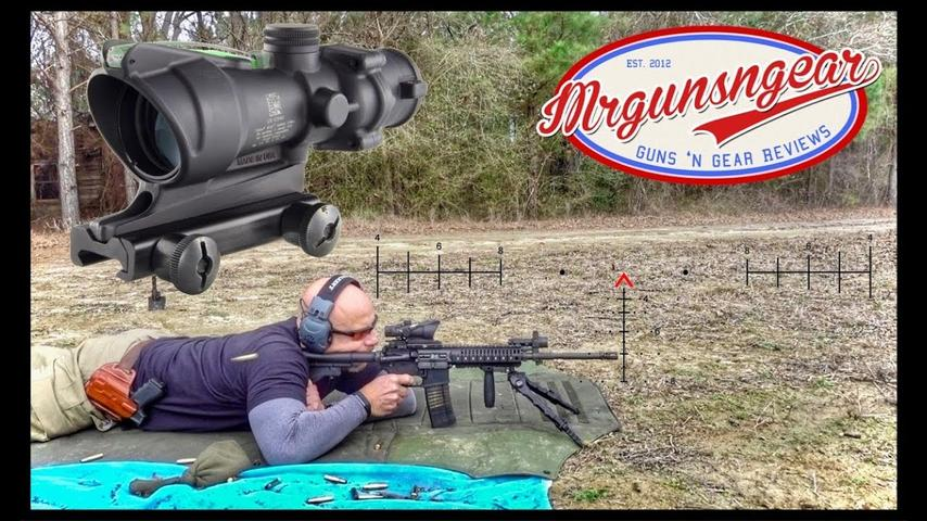 Trijicon TA31 ACOG With Primary Arms ACSS Aurora Reticle Review