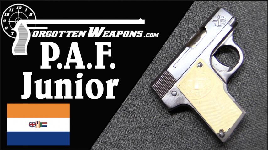 P.A.F. Junior - South Africa's First Production Gun