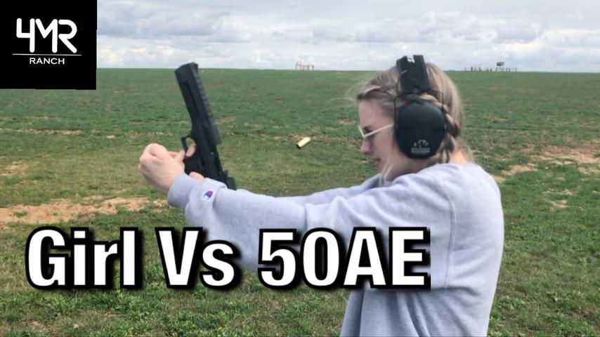 When a Girl Shoots The DESERT EAGLE (Gone Wrong)