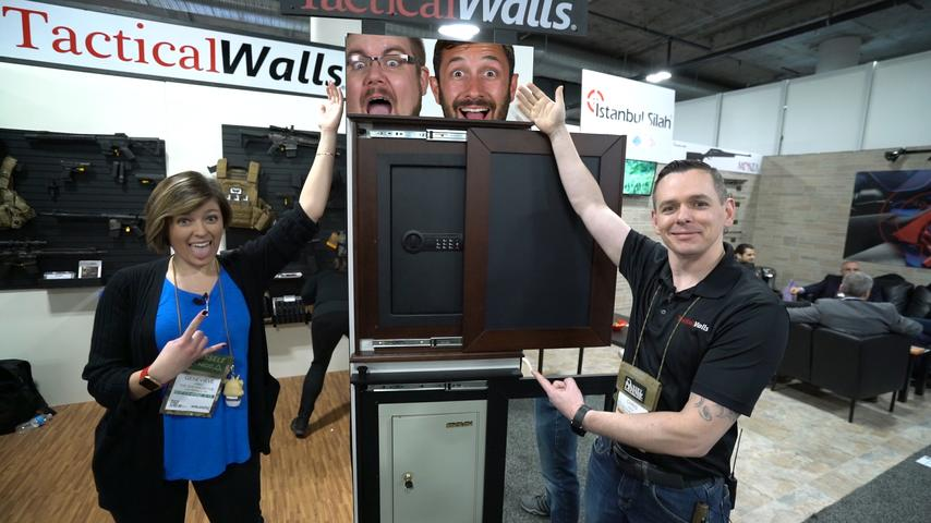 Cool new products from Tactical Walls! - SHOT Show 2019