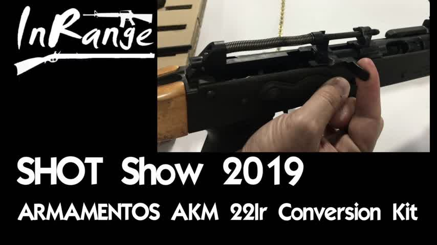 SHOT Show 2019: Armamentos AKM 22lr Conversion Kit