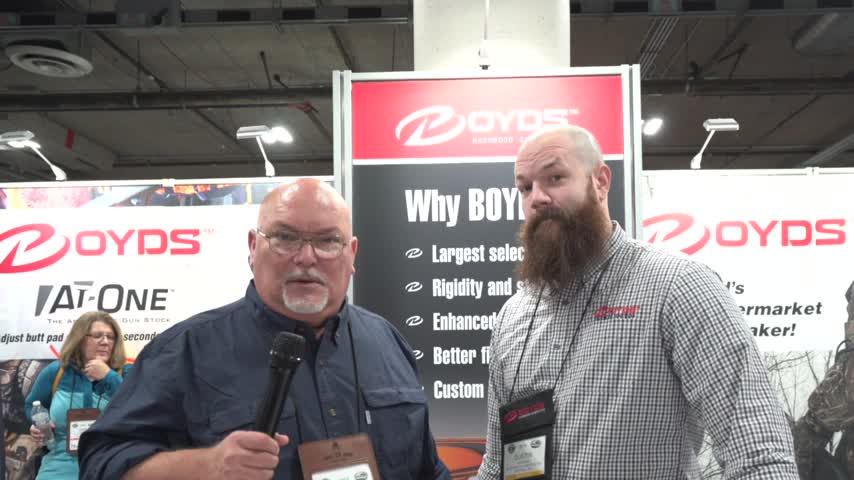 SHOTShow 2019 Boyds Gun Stocks