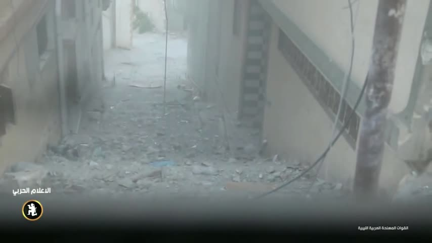 Combat Footage of the Libyan National Army Taking on Islamists