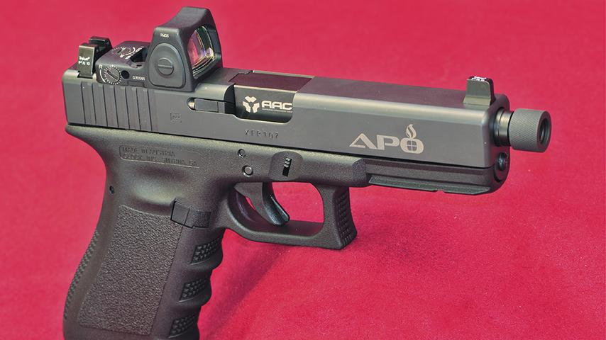 SHOT Show 2019: Custom Handgun Gunsimithing from Ashbury Precision Ordnance