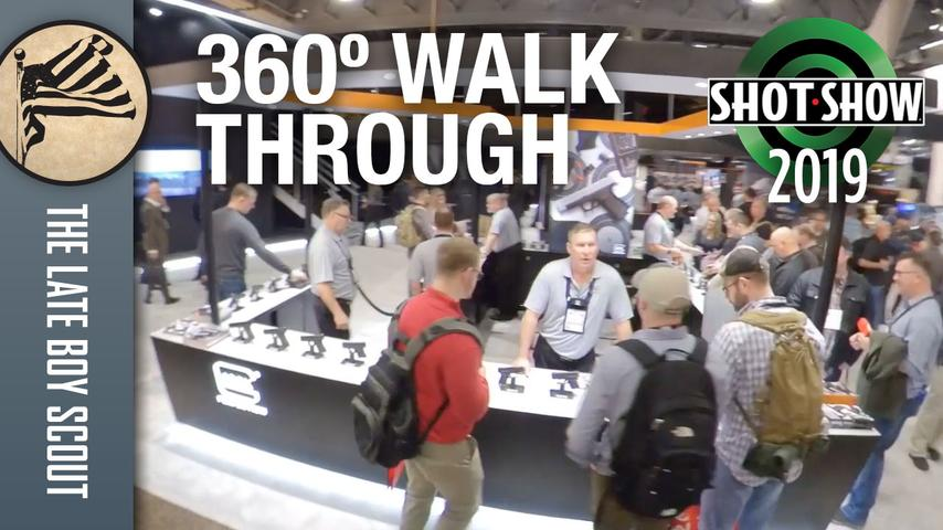 What SHOT Show is Really Like - Insta360 One X Walkthrough