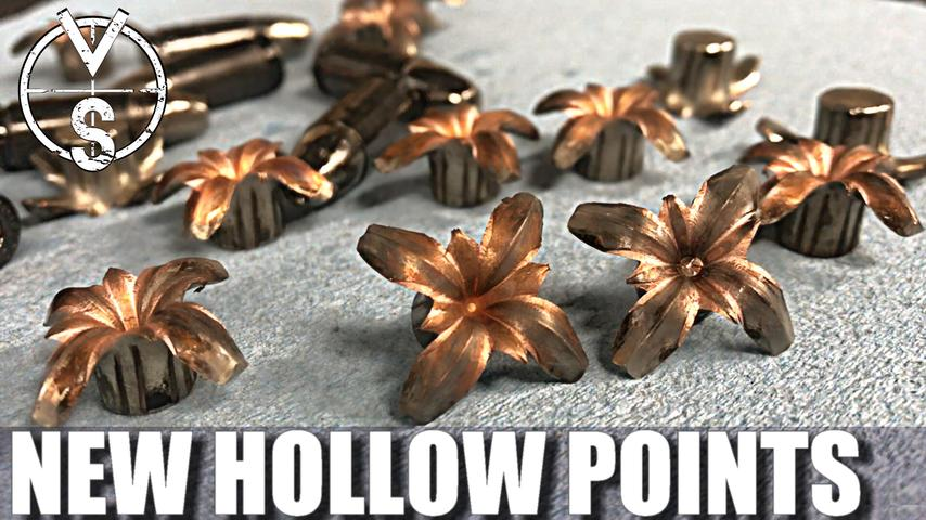 258% Expansion: NORMA Monolithic Hollow Point