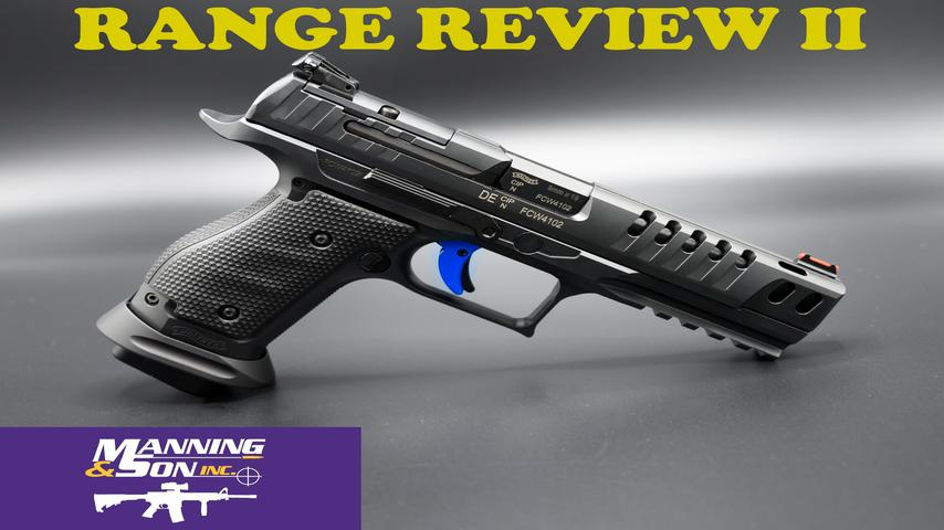 WALTHER Q5 STEEL FRAME SF RANGE DAY PART 2