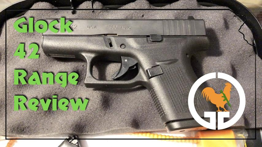 Glock 42 Range Review