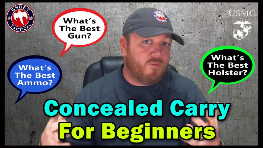 Concealed Carry For Beginners: What You NEED to Know!