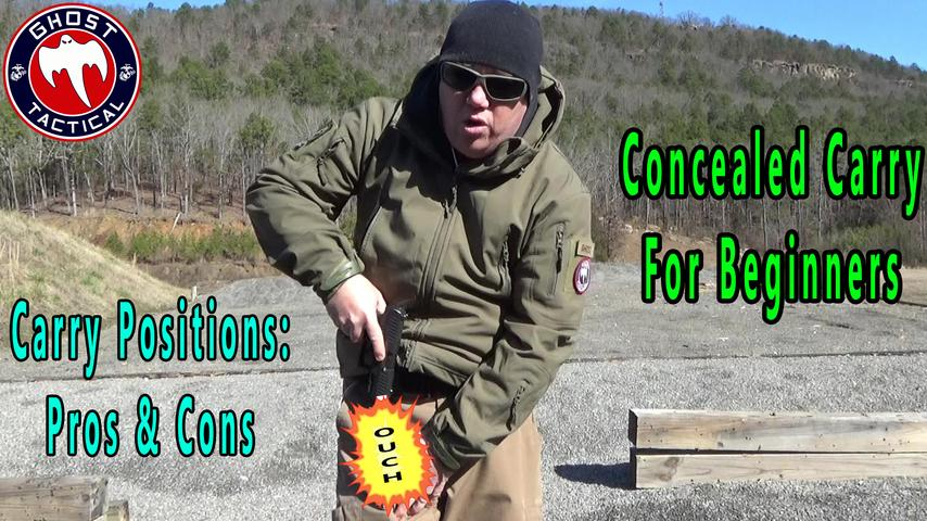 Concealed Carry For Beginners: Carry Positions Pros & Cons