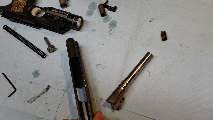 Disassembly, cleaning, and inspection of the 1911