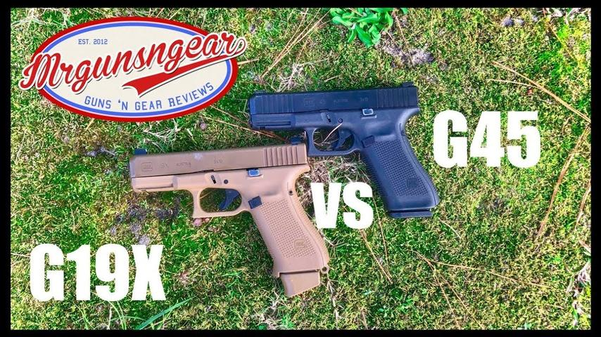 Glock 19X vs Glock 45: Which Is Best?
