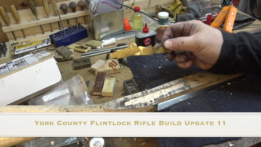 York County Flintlock Rifle Build - Update 11