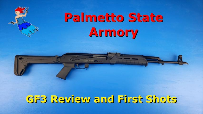 Palmetto State Armory GF3 Review and First Shots