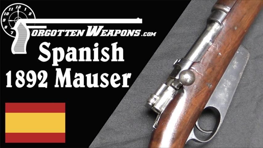 Spanish 1892: Last of the Single Stack Magazine Mausers