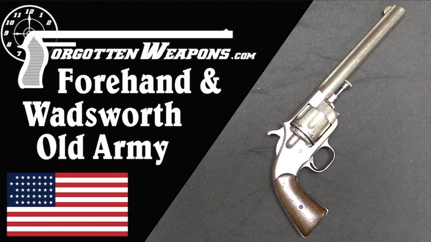 Forehand & Wadsworth Old Army Revolver