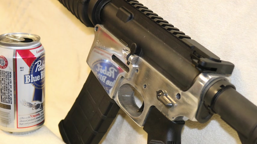 Making an AR15 from beer cans, MAIN VIDEO.  GunCraft101