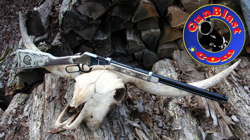 "Henry ""The American Eagle"" 22 Lever-Action Rifle"