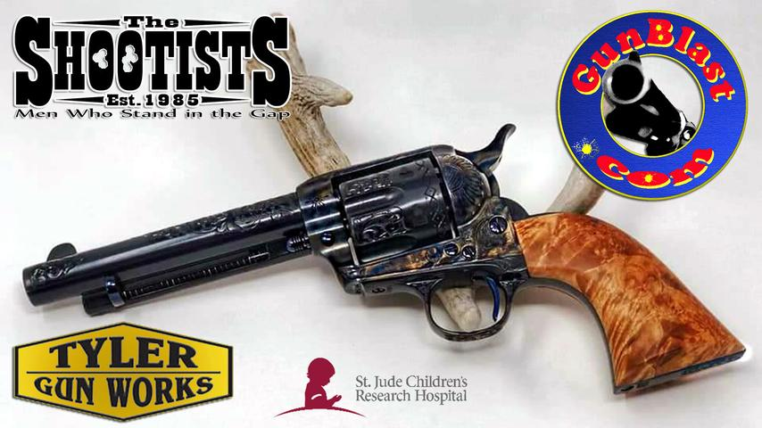 Special Shootists Colt SAA 38-40 to Benefit St. Jude Hospital