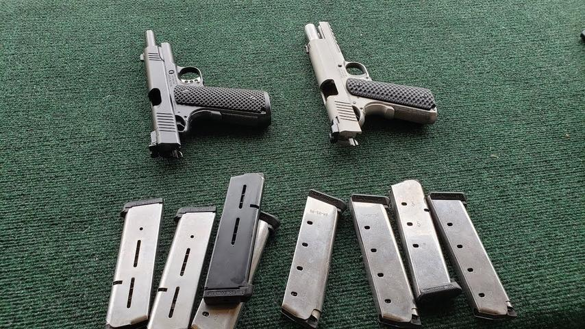 1911 Builds 4, 9 and 10 at the Range