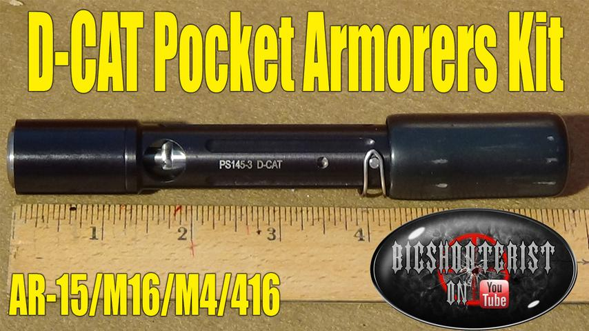 D-CAT Compact Armorers Tool for AR-15 & M16