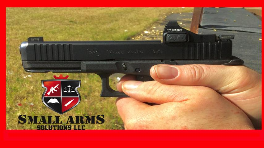 The Glock 17  Gen 5 MOS and Vortex Viper Red Dot Sight