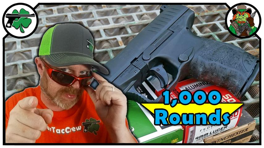 Walther PPQ 9mm Full Size 1,000 Round Review