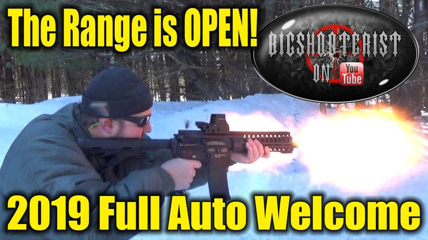 Winter? What Winter. The Range is Open.