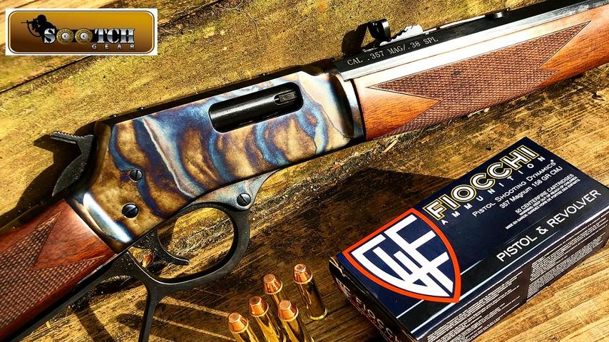 Henry Color Case Hardened 357 Mag Lever Action Review
