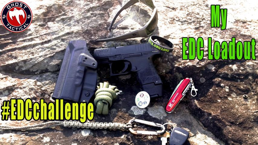 #EDCchallenge:  My EDC Loadout in response to Patriot in the Dark