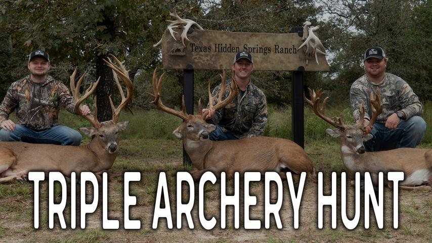 When Archery Hunting goes wrong at the Texas Hidden Springs Ranch