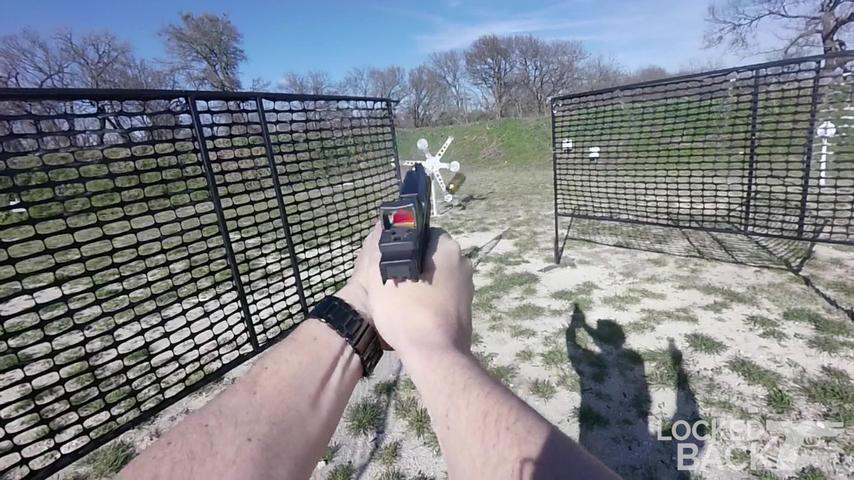 All Steel Pistol Stage with a Lobsided Texas Star