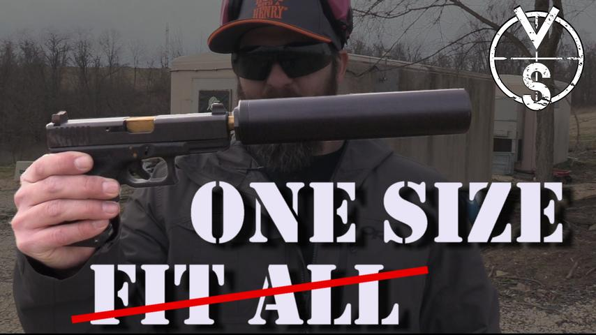 Suppressors: One Size Does Not Fill All