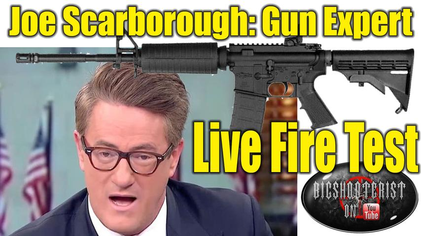 MSNBC's Joe Scarborough Twitter Fail on AR-15s