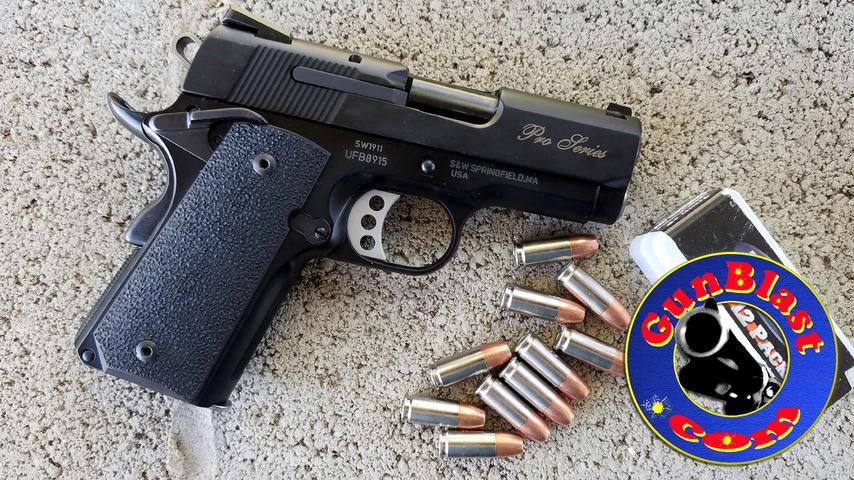 Smith & Wesson Performance Center® SW1911 Pro Series® Sub-Compact 9mm Pistol