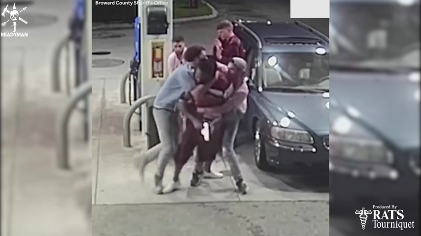 Plan 2 React - College Students Resist Armed Robber at Gas Station