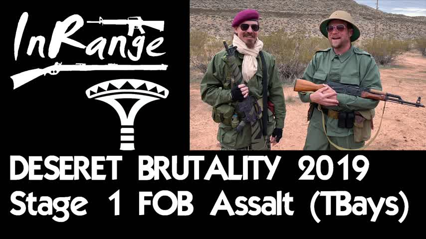 Desert Brutality 2019 - Introduction & Stage 1 - FOB ASSAULT