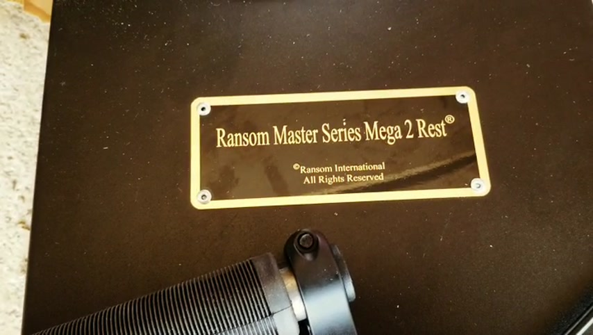 Mega2 master series rifle rest from ransom rest