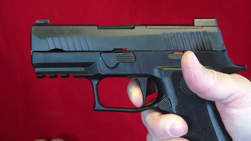 SIG's NEW P320 X-Compact - Part 1