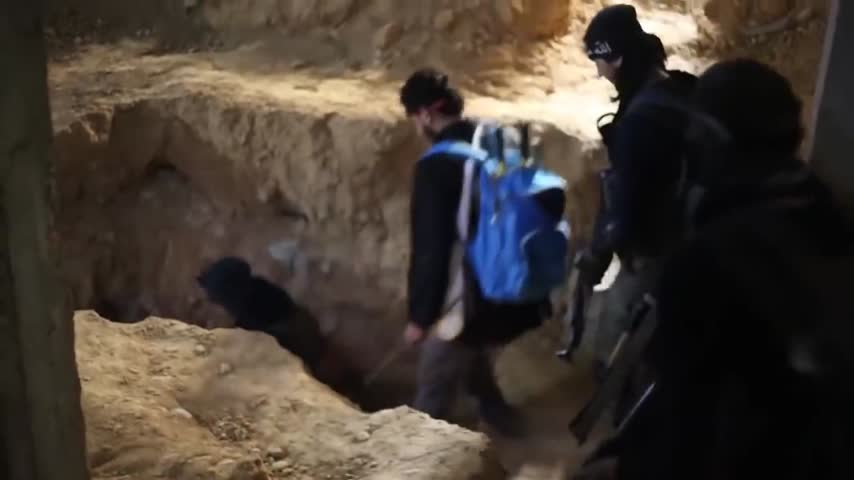 Syrian Rebel GoPro Catches Close Grenade Exchange During Firefight