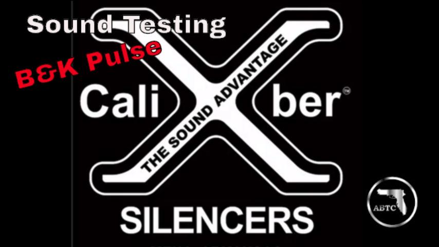 Sound Testing XCaliber Silencers with B&K pulse system