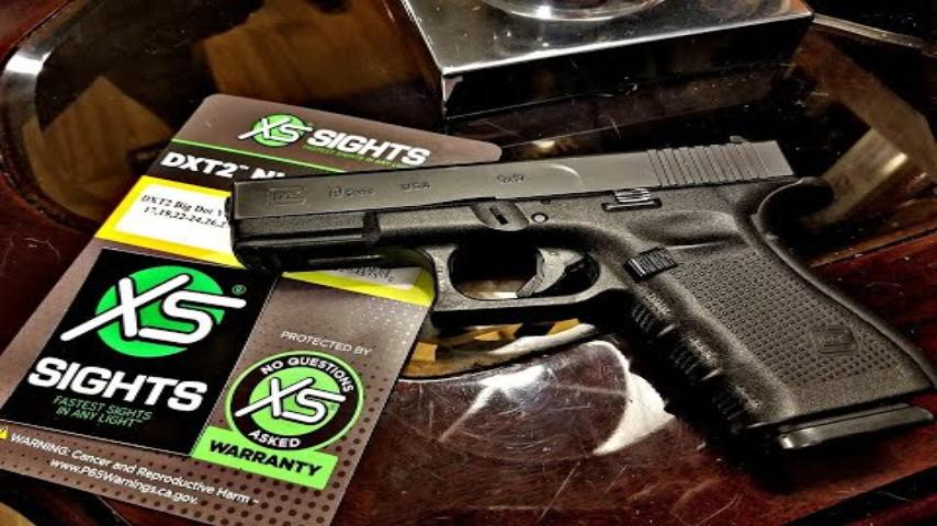 Installing XS DXT2 Sights on a Glock 19